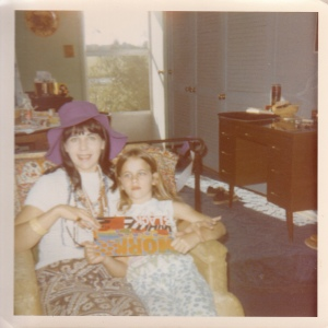 Stephanie with her mom June in the 1960's